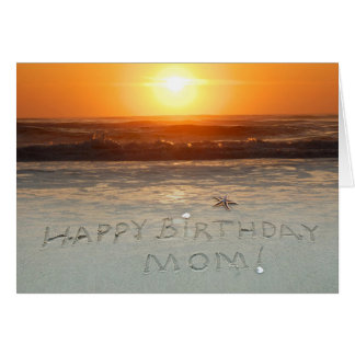 Cartão Feliz aniversario, mamã!