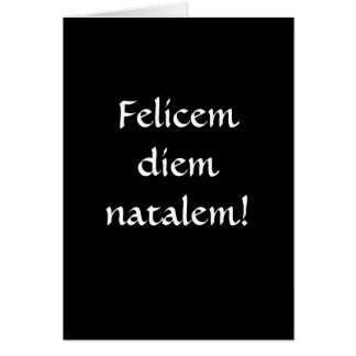 Cartão Feliz aniversario… no latino!
