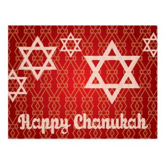 Cartão feliz de Hanukkah - de Chanukah