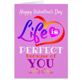 Cartão Feliz dia dos namorados cor-de-rosa (ou seu texto)