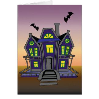 Cartão feliz do aniversário do Dia das Bruxas