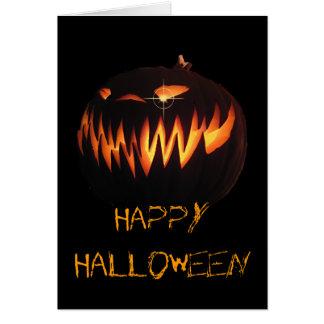 Cartão feliz do Dia das Bruxas