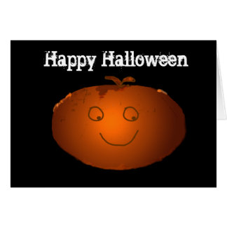 Cartão feliz do Dia das Bruxas - personalize