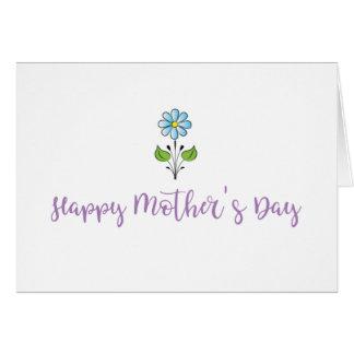Cartão ❤️ feliz do dia das mães minha cara mamã doce com