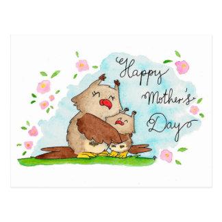 Cartão feliz do dia das mães por Nicole Janes