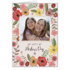 Cartão feliz do dia do dia das mães | Mother´s