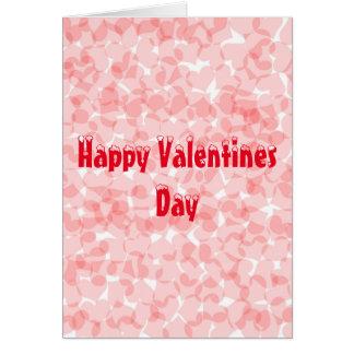 Cartão feliz do dia dos namorados