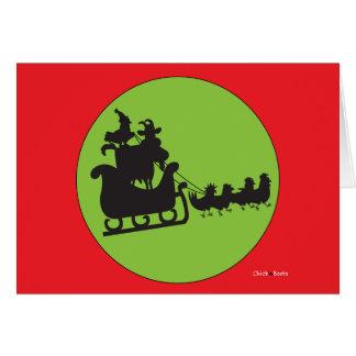Cartão Feliz Natal a tudo e a todo o Goodnight!