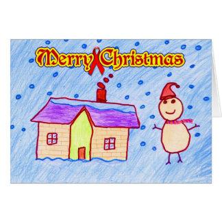 Cartão Feliz Natal (caridade do HIV/AIDS)