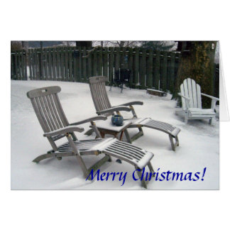 Cartão Feliz Natal de Cleveland, Ohio