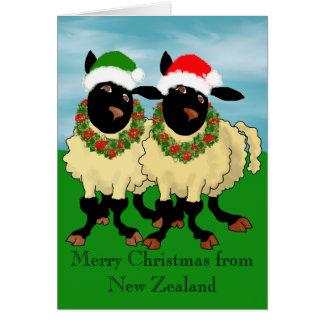 Cartão Feliz Natal de Nova Zelândia