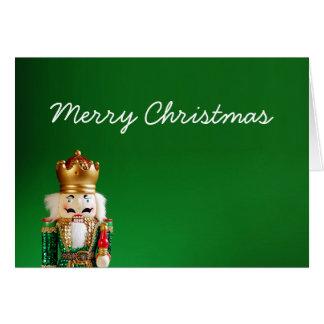 Cartão Feliz Natal do Nutcracker