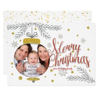 Cartão Feliz Natal e feliz ano novo