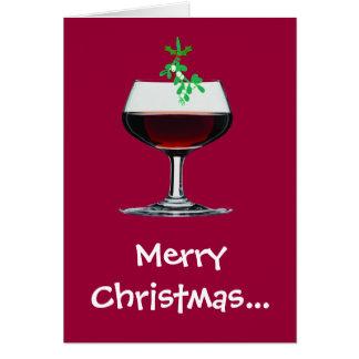 Cartão Feliz Natal - e um ano novo alegre demasiado!!