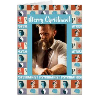 Cartão Feliz Natal feito sob encomenda do psiquiatra da
