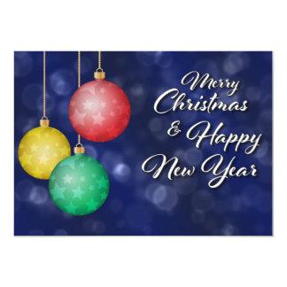 Cartão Feliz Natal & feliz ano novo