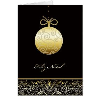 Cartão Feliz natal, Feliz Natal no português