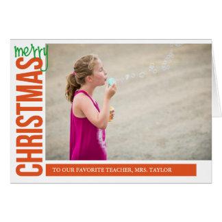 Cartão Feliz Natal para você