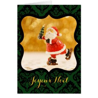 Cartão Feliz Natal Quadro V decorativo Foto Mapa de