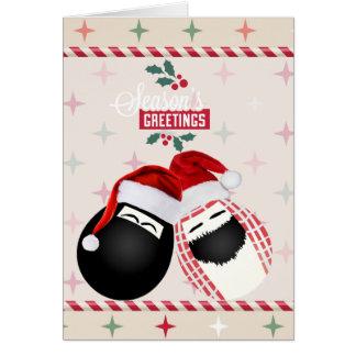 Cartão Feliz Natal Sr. & Sra. Ovo dos cumprimentos das