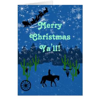 Cartão Feliz Natal você!
