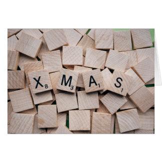 Cartão Feliz Natal, Xmas