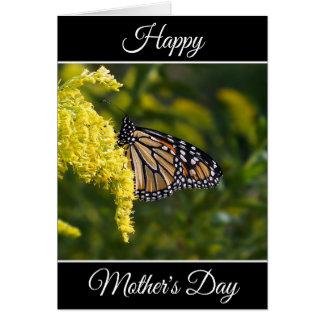 Cartão feliz personalizado do monarca do dia das