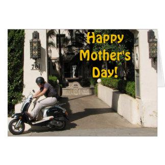 Cartão feliz super do dia das mães!