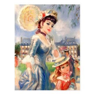 Cartão felizes das belas artes do dia das mães