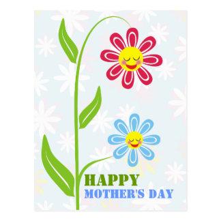 Cartão felizes do dia das mães