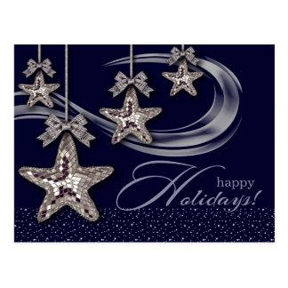 Cartão felizes do Natal de Holidays.Customizable