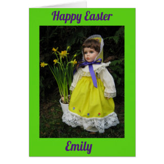 Cartão Felz pascoa Emily