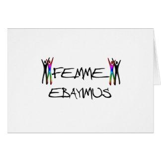 Cartão Femme Ebayimus