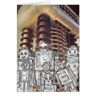 Cartão Feriado 8 do robô