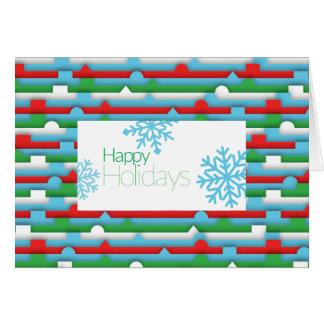 Cartão Feriado de inverno