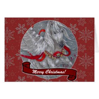 Cartão - feriado decorativo Pegasus