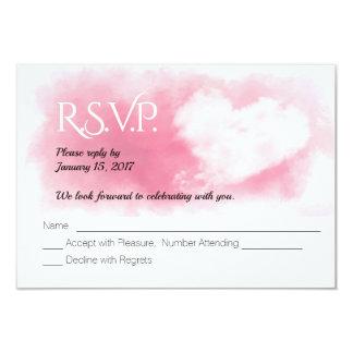 Cartão Feriado do coração dos namorados que Wedding o