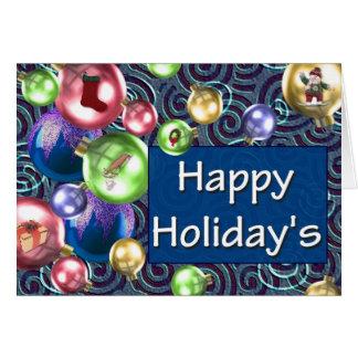 Cartão Feriado feliz