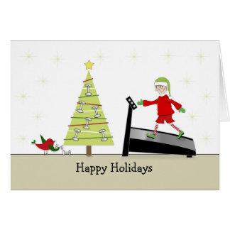 Cartão Feriados Cartão-Felizes de cumprimento da malhação