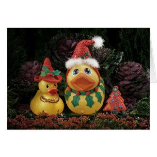 Cartão Feriados Ducky!