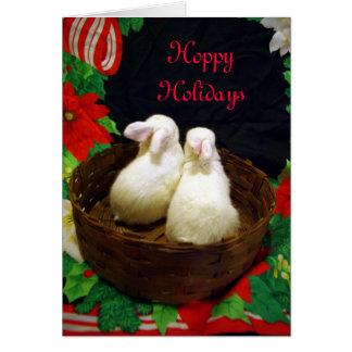 Cartão Feriados Hoppy
