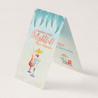 Cartão Feriados nos Tag do presente da aguarela dos