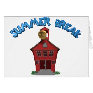 Cartão Férias de verão felizes