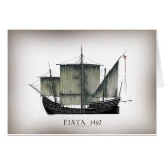 Cartão Fernandes 1492 tony de Pinta