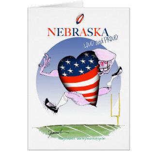Cartão fernandes tony altos e orgulhosos de nebraska,