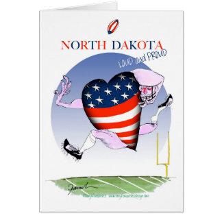 Cartão fernandes tony altos e orgulhosos de North Dakota,