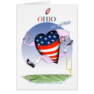 Cartão fernandes tony altos e orgulhosos de ohio,