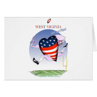 Cartão fernandes tony altos e orgulhosos de West