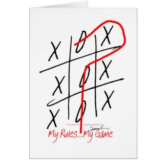 Cartão fernandes tony, é minha regra meu jogo 6