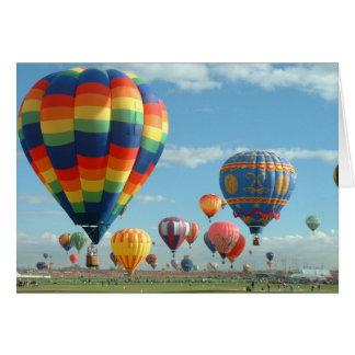 Cartão Festa Albuquerque do balão
